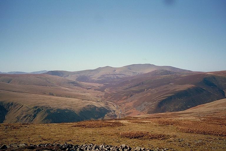 Skiddaw and the Upper Reaches of the River Caldew