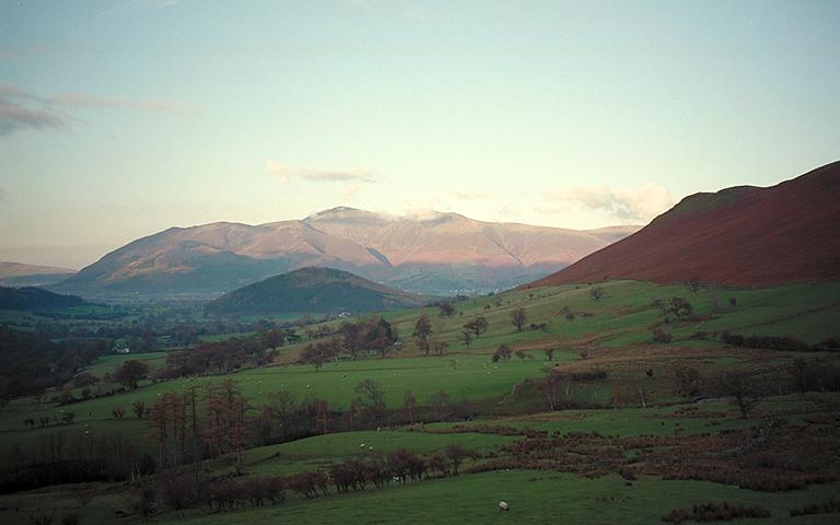Skiddaw from Little Town