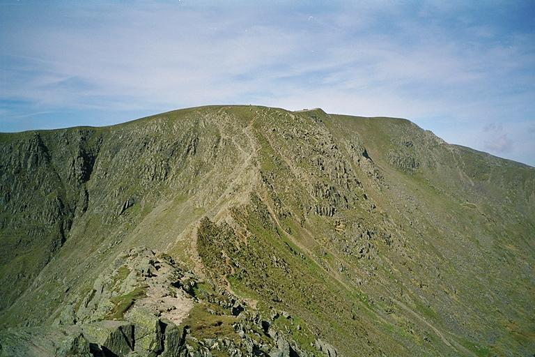 Striding Edge from its First Crest