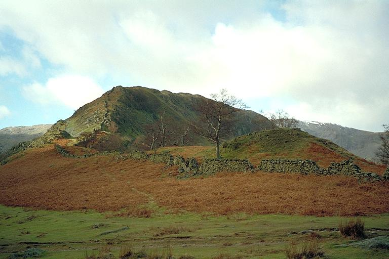Swine Crag from The Rigg