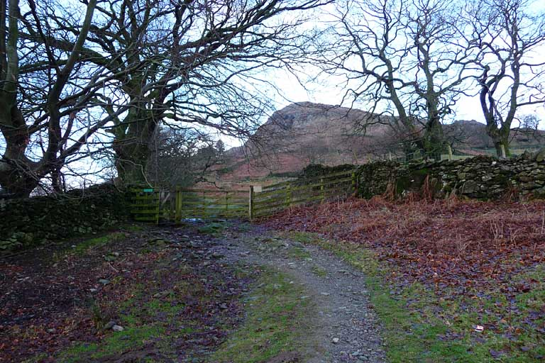 Gate to Nab Scar