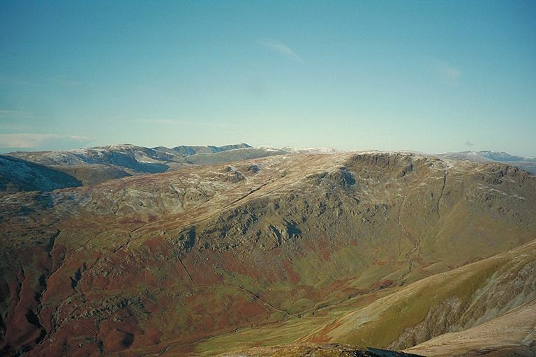 Caudale Moor from Ill Bell