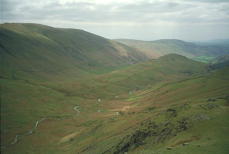 Troutbeck from Caudale Moor