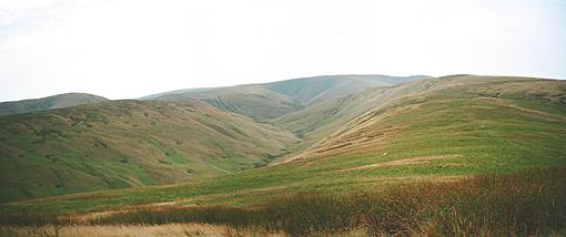 Uldale from Rispa Pike (Howgills)