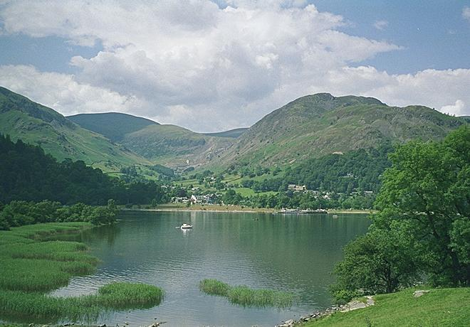 Glenridding from the Lakeside Path