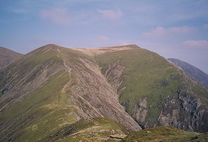 Whiteless Edge from Whiteless Pike