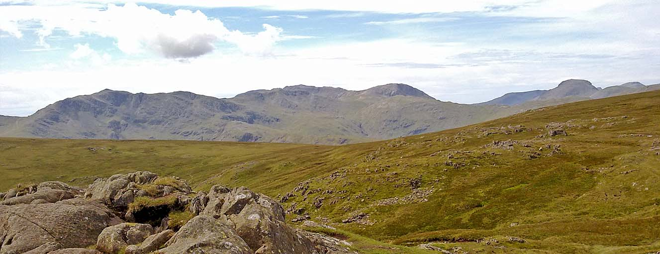 Scafells from Sergeant Man