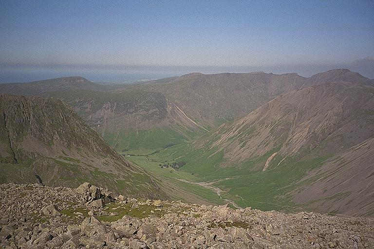 Wasdale Head from Great End